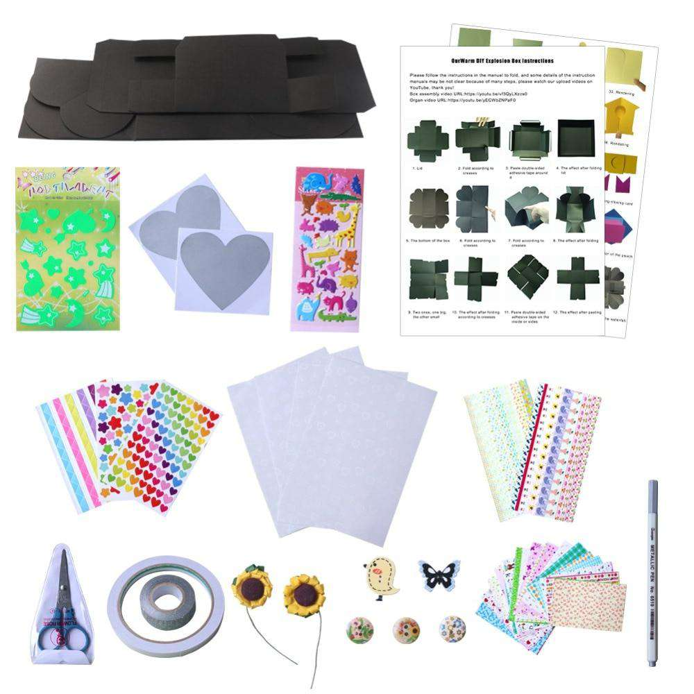 DIY Surprise Love Explosion Box Kit