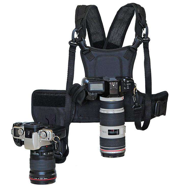 Multi-Camera Carrying Vest - Prography Gear