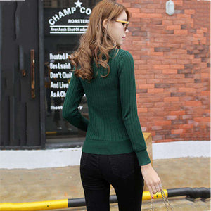 Cozy Knitted Fleece Sweater