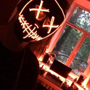 Halloween LED Light Mask