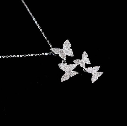 Image of 925 sterling silver Butterfly Necklace - Prography Gear