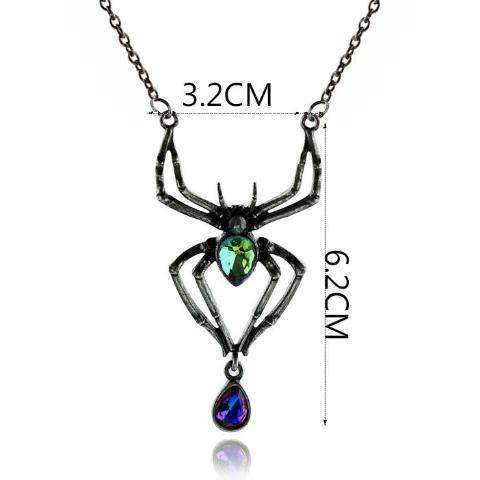 Crystal Spider Necklace - Prography Gear