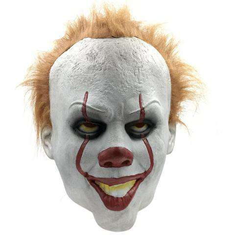 Image of Pennywise Mask For Halloween - Royalty Trends