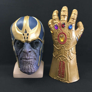 Original Thanos Mask And Gauntlet