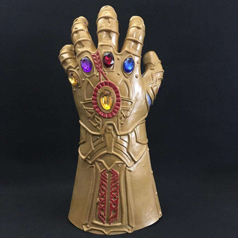 Original Thanos Mask And Gauntlet - Prography Gear