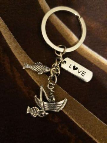 Image of Fishing Boat Keychain - Prography Gear