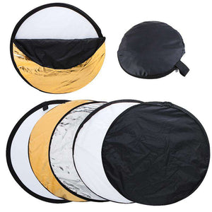 5 in 1 Foldable Light Reflector 80cm