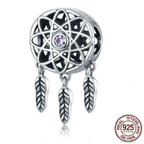 Cute 925 Sterling Silver Dreamcatcher Charm - Prography Gear