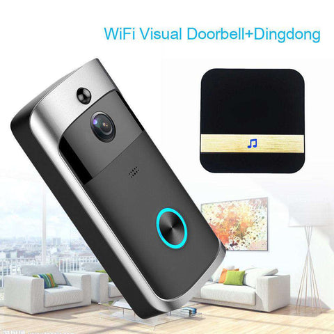 Wireless HD 720P Video Doorbell - Infrared Night Vision Motion Detection - Prography Gear
