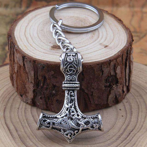 Vikings Thor's Hammer Keychain - Prography Gear