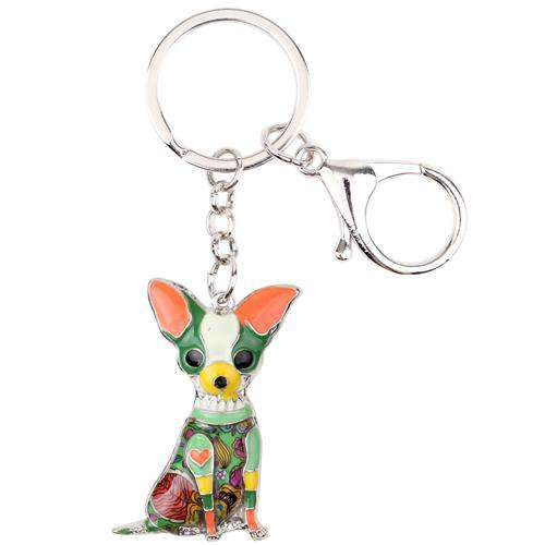 New Design Chihuahua Keychain Royalty Trends