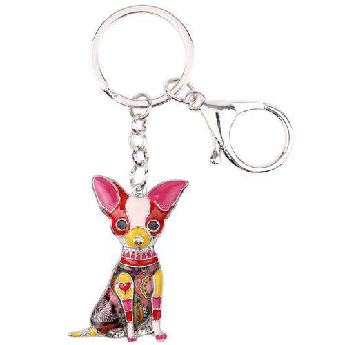 New Design Chihuahua Keychain - Prography Gear