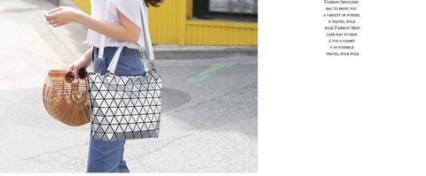 Geometry Luminous Diamond Handbag - Prography Gear