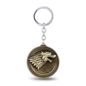 Game Of Thrones Houses Keychains