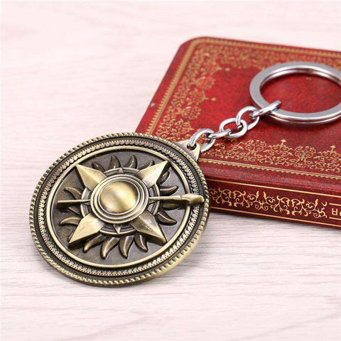 Game Of Thrones Houses Keychains - Prography Gear