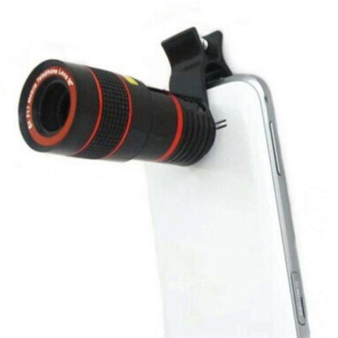 Image of 12X OPTICAL ZOOM TELESCOPE MOBILE CAMERA LENS - Prography Gear