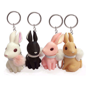 Lovely Rabbit Keychain
