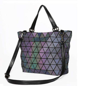 Geometry Luminous Diamond Handbag