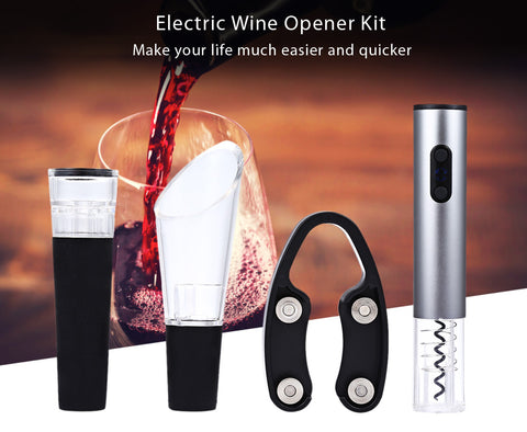 Electric LED Wine Opener - Prography Gear
