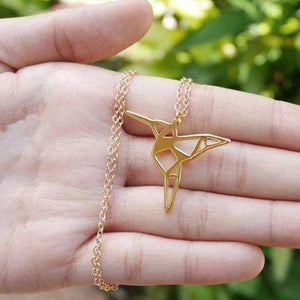 Charming Hummingbird Necklace