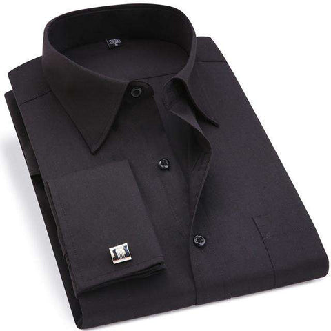 Image of Classic With French Cufflinks Men's Business Shirt - Prography Gear