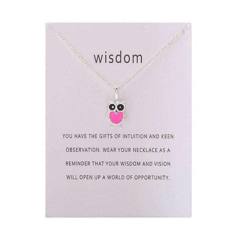 Image of Owl Necklace With Card - Prography Gear