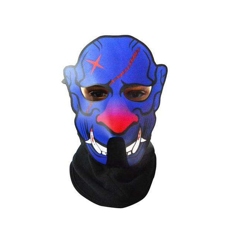 Image of Original Sound Reactive LED Glowing Mask - Royalty Trends