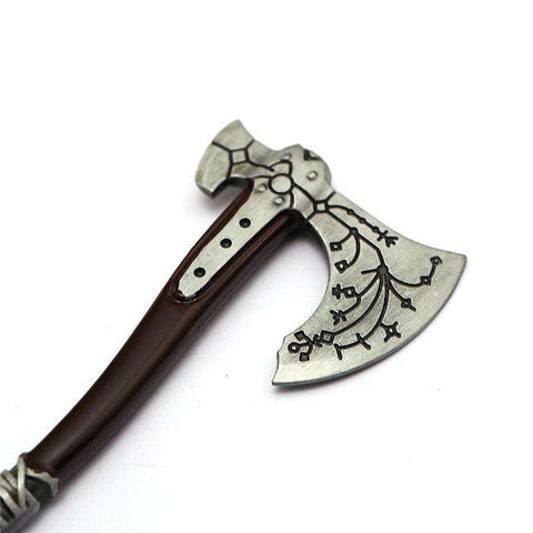 God Of War Axe And Shield Keychain - Prography Gear