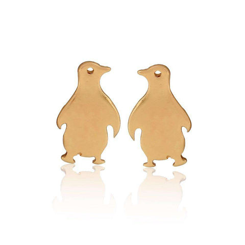 Cute Penguin Earrings - Royalty Trends