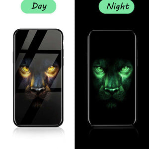 Revolutionary Luminous Panther iPhone Case