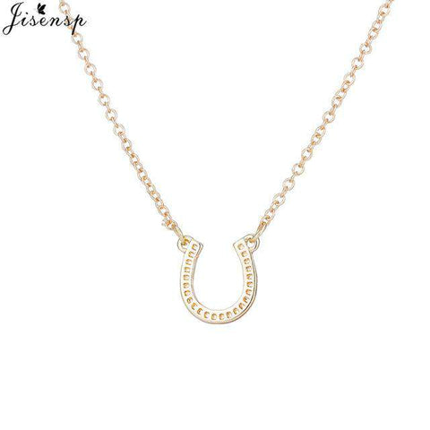 Lucky Horse Shoe Necklace - Royalty Trends