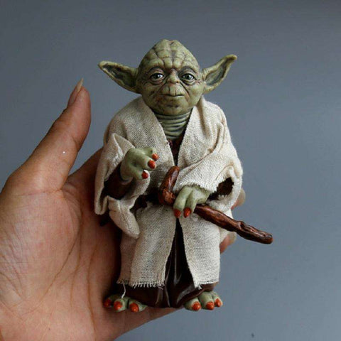 Image of Original Master Yoda Action Figure - Prography Gear