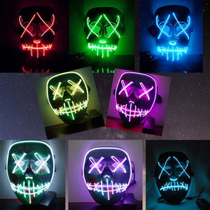 Halloween LED Light Mask - Prography Gear