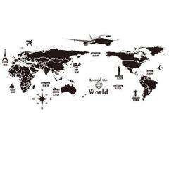 World Map Wall Decorations Sticker - Prography Gear