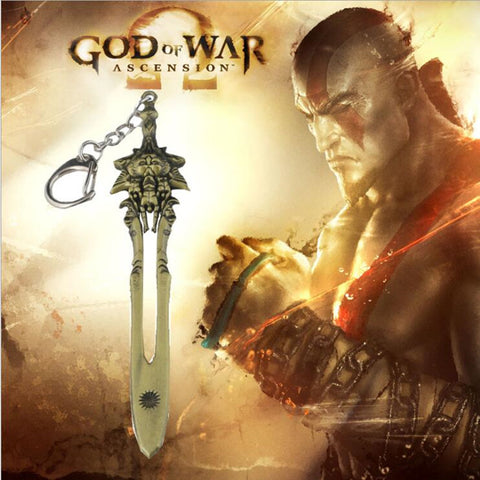God Of War Blade Of Olympus Keychain - Prography Gear