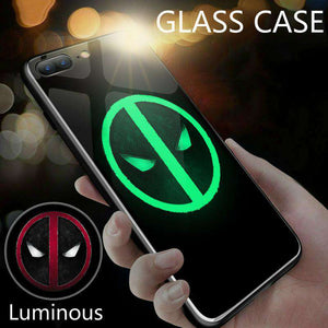 Revolutionary Deadpool Luminous iPhone Case - Royalty Trends