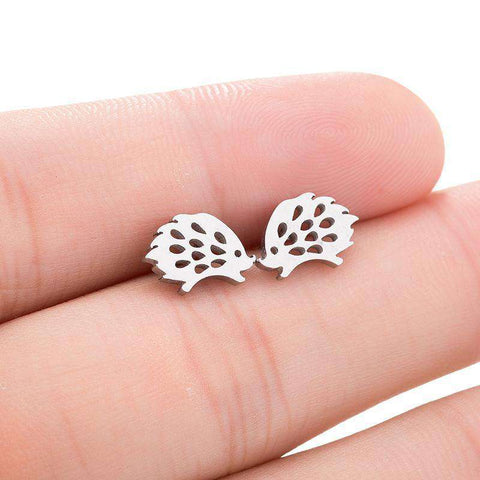 Image of Cute Hedgehog Earrings - Prography Gear