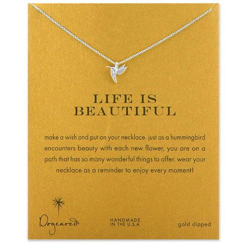 Hummingbird Necklace With Gift Card - Prography Gear