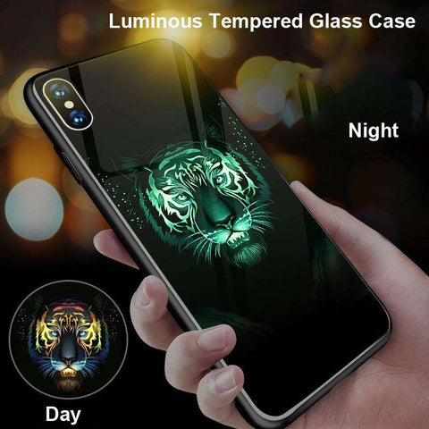 Luminous Tiger iPhone Case - Royalty Trends