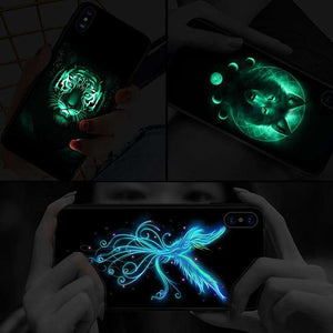 Luminous Wolf iPhone Case