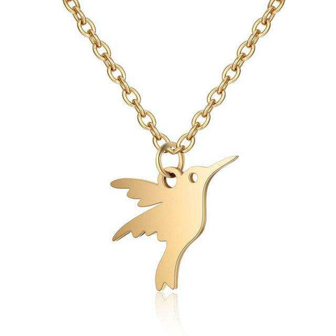 Image of Cute Hummingbird Necklace - Prography Gear