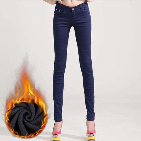 Innovative Warm Stretch Winter Jeans - Thick Velvet - Prography Gear