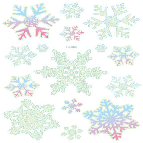 Luminous Temporary Christmas Tattoo Stickers - Royalty Trends
