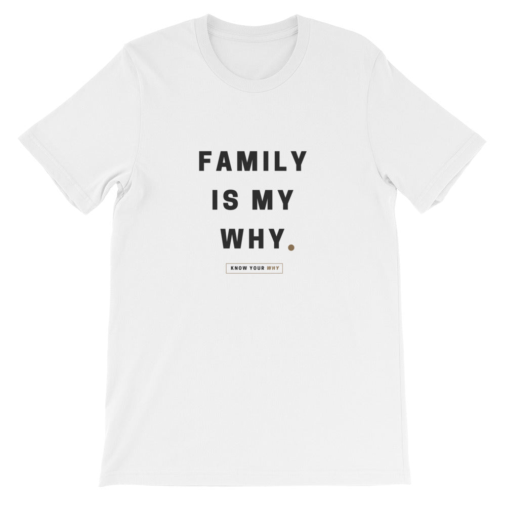 KYW Original Family Is My Why Tee - White