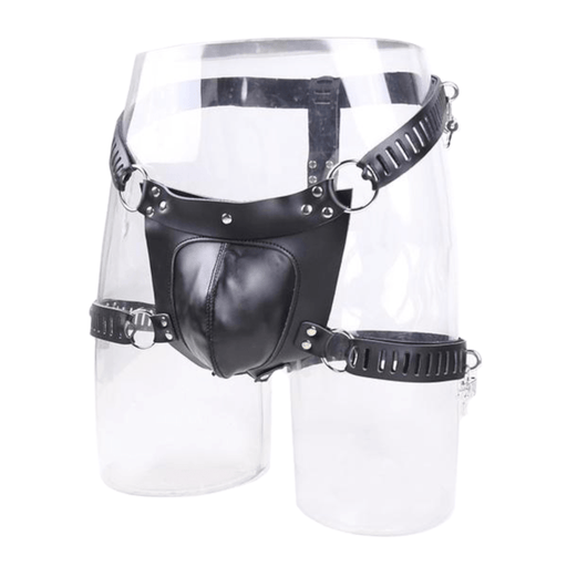 Black Hole Male Chastity Belt 37.40 inches Waistline