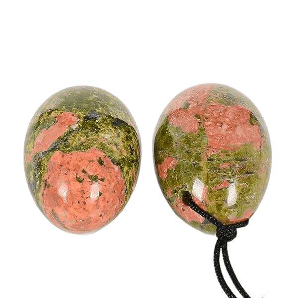 Unakite Yoni Egg | Small-sized Natural Unakite Crystal Egg