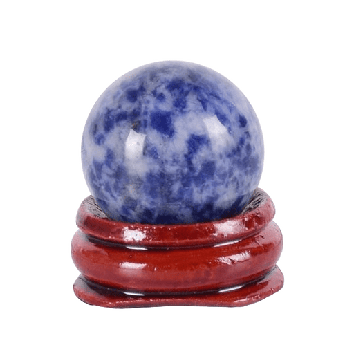 Spherical Sodalite Crystal Egg