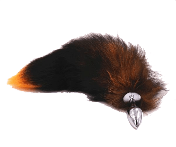Stylish Brown Cat Tail Butt Plug 18 to 20 Inches Long