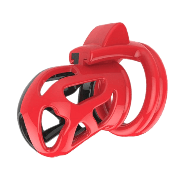 Dual Color Plastic Cock Cage 2.28 inches long