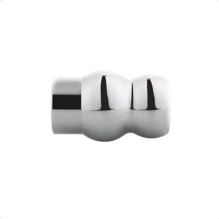 Aluminum Alloy Hollow Butt Plug 2.36 to 3.15 Inches Long